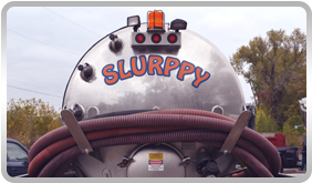 Picture of their truck, named Big Slurppy